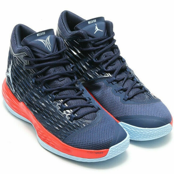 de2d04eff42 Nike Jordan Shoes | New Nike Air Jordan Melo M13 Usa Sz 11 Midnight ...